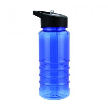 Бутылка для воды, носик- трубочка, 550 мл - 2221