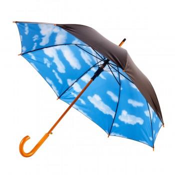 """Современный зонт трость полуавтомат ТМ """"Bergamo"""" - 45132"""