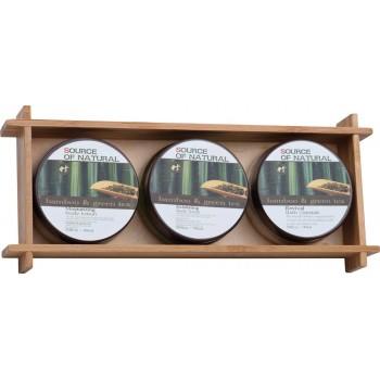 """Бамбуковый набор для купания """"Damara"""" - 2795"""