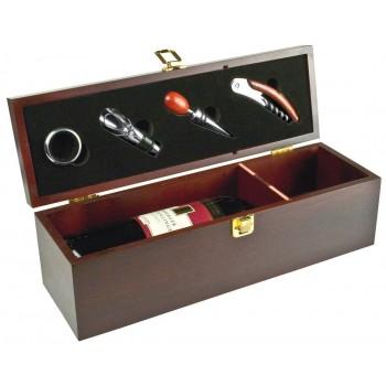 """Подарочная коробка-кейс для вина """"Jesolo"""" - 4007"""