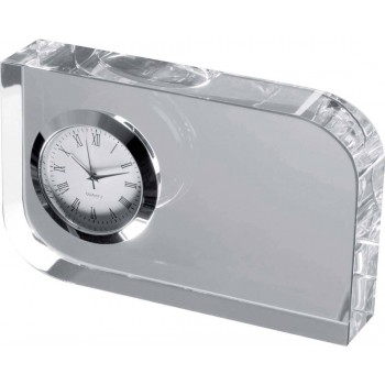 Элегантные настольные часы из стекла - 27503