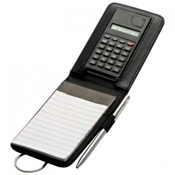Элегантная записная книжка с калькулятором - 27914