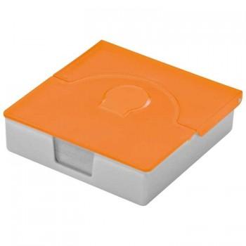 Практичная пластиковая коробочка для визиток - 28271