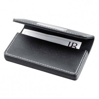 Кожаный футляр для визитных карточек - 29054