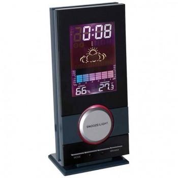 Стильные настольные часы с будильником - 40255