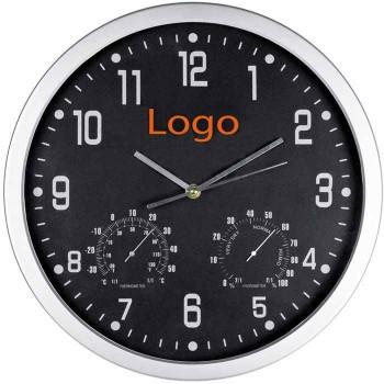 Часы с термометром и гигрометром - 41238