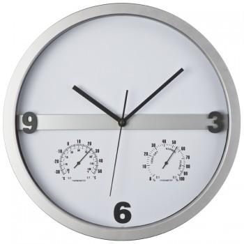 Часы с термометром и гигрометром - 43449