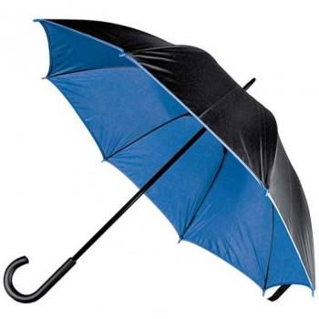Зонт-трость, двухцветный - 45197