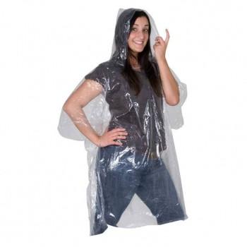 Прозрачный дождевой плащ - 49218