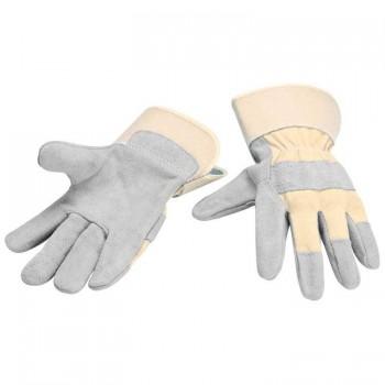 Рабочие перчатки из натуральной кожи - 98794