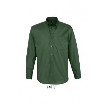 Рубашка из хлопкового твила с длинным рукавом SOL'S BEL-AIR - 16090