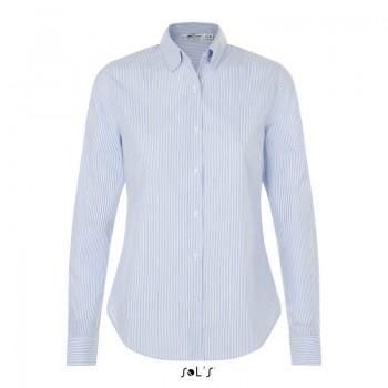 Женская рубашка в полоску SOL'S BEVERLY WOMEN - 01651