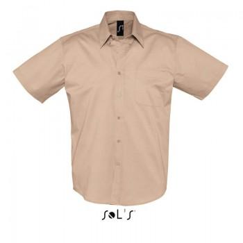 Рубашка из хлопкового твила SOL'S BROOKLYN - 16080