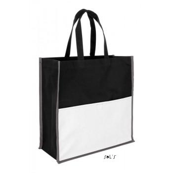 Трехцветная сумка для покупок из полиэстeра 600d SOL'S BURTON - 01669