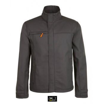 Мужская однотонная рабочая куртка SOL'S FORCE PRO - 01566