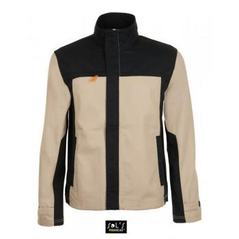 Мужская двухцветная рабочая куртка SOL'S IMPACT PRO - 01565