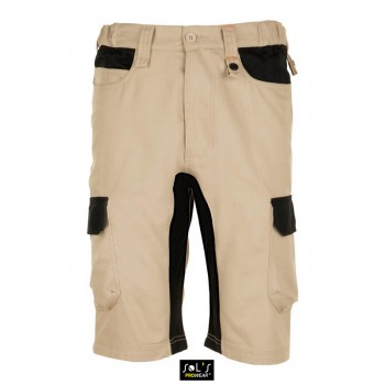 Мужские двухцветные рабочие шорты SOL'S IMPULSE PRO - 01562