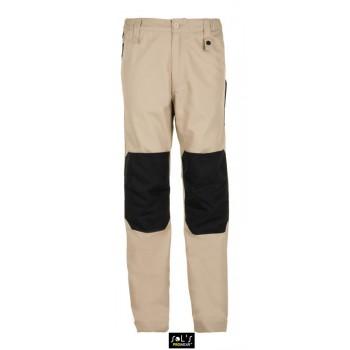 Мужские двухцветные рабочие брюки SOL'S METAL PRO - 01560