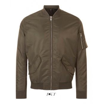 "Модная куртка ""bomber"" унисекс SOL'S REBEL - 01616"