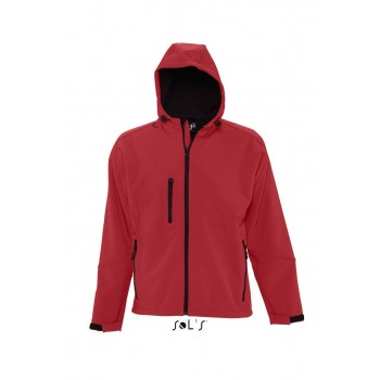 Куртка с капюшоном софтшелл SOL'S REPLAY MEN - 46602