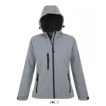 Женская куртка с капюшоном софтшелл SOL'S REPLAY WOMEN - 46802