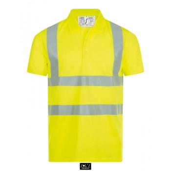 Рубашка поло со светоотражающими полосками SOL'S SIGNAL PRO - 01722
