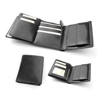 Бумажник мужской из итальянской кожи - 015M-DF