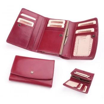 Бумажник женский из итальянской кожи - 018D-DF