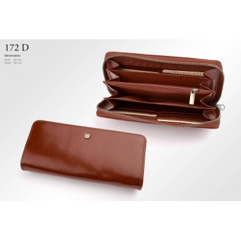 Бумажник женский из итальянской кожи - 172D-DF