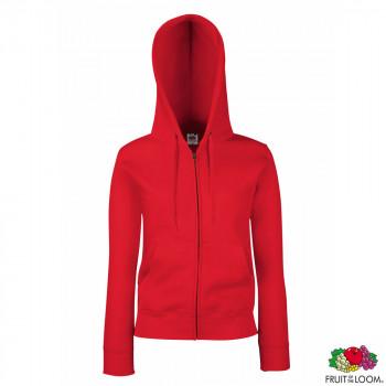 Толстовка 'Lady-Fit Premium Sweat Jacket' XL (Fruit of the Loom)