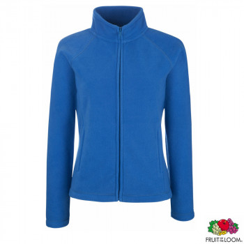 Толстовка 'Lady-Fit Full Zip Fleece' S (Fruit of the Loom)