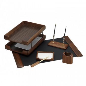 Набор настольный деревянный, 6 предметов
