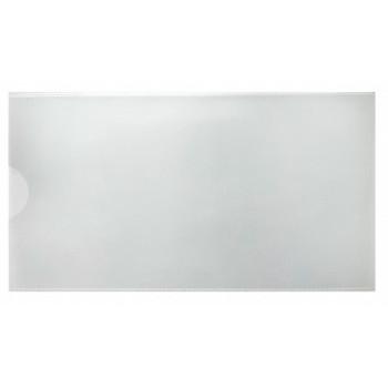 Папка-евроконверт Е65, прозрачная, боковая загрузка