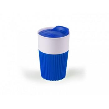 Чашка фарфоровая с силиконовым гриппом FRATELLO 350 ml