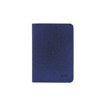 Бизнес-организатор на молнии 184*269 мм, на кольцах, коричневый, бумага 80 г/м2, кремовая
