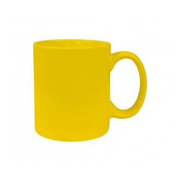 Чашка керамическая евроцилиндр Economix promo 340 ml