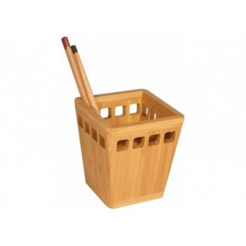 Подставка для ручек, бамбук