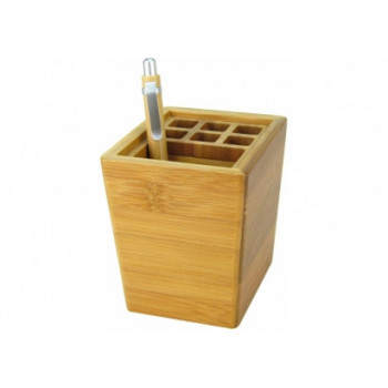 Подставка для ручек из бамбука
