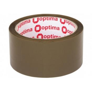 Лента клейкая упаковочная Optima, 48*50