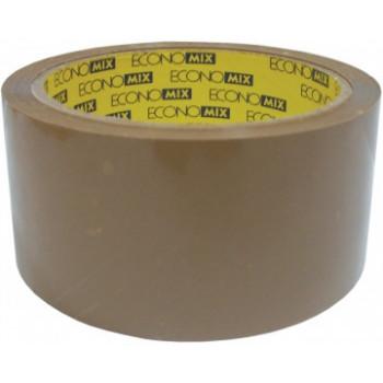 Лента клейкая упаковочная Economix, 48*50