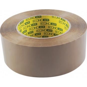Лента клейкая упаковочная Economix, 48*200
