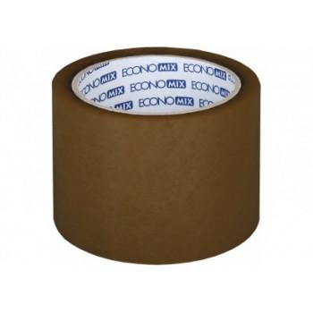 Лента клейкая упаковочная Economix, 72*66