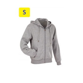 Куртка мужская ST5610 с капюшоном 280 g/m², серый
