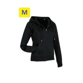 Куртка женская ST5710 с капюшоном 280 g/m², черный