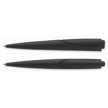 Ручка Schneider F-ACE, черная, пишет синим