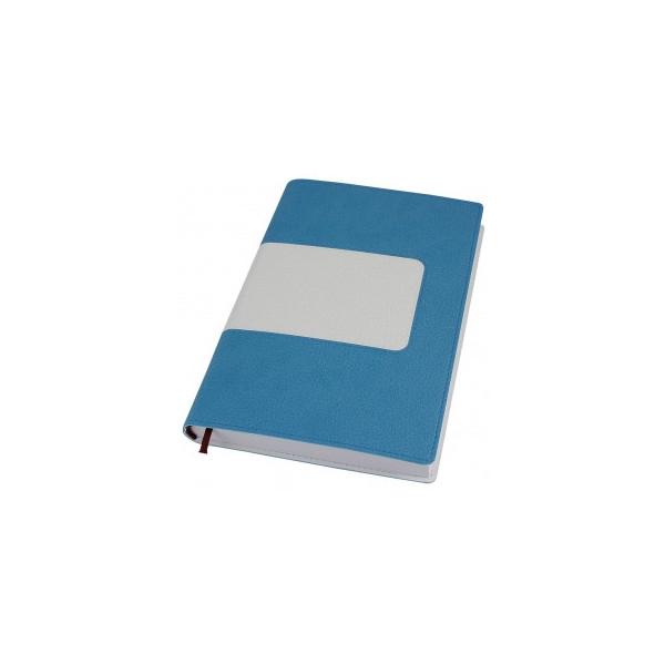 Деловой блокнот Armonia, A5 (белый блок без линовки)