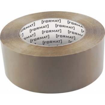 Лента клейкая упаковочная Format, 45*66