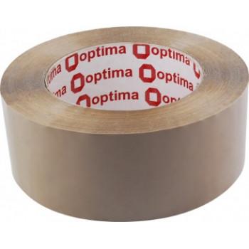 Лента клейкая упаковочная Optima, 48*80